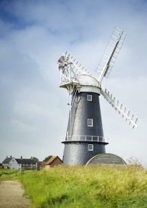 Windmill. Norfolk, England