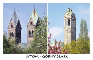 Bytom - Upper Silesia. Churches