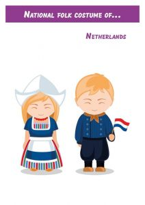 National folk costume of...Netherlands