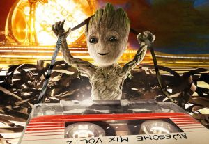 Guardians of the Galaxy. Groot