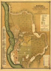 Plan for the city of Tomsk