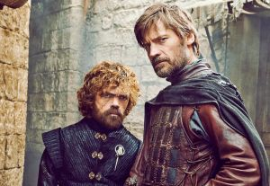 Game of Thrones. Tyrion and Jaime Lannister