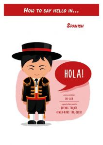 How to say hello in... Spanish