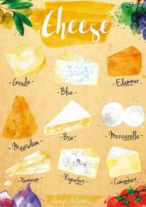 Cheese types