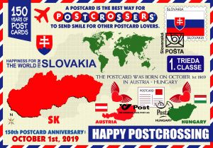 150 years of postcards: Slovakia