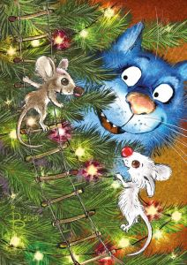 Mice on Christmas Tree