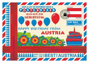 Happy Birthday from... Austria
