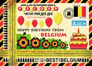 Happy Birthday from... Belgium