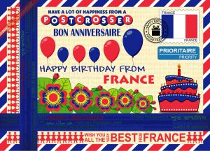 Happy Birthday from... France