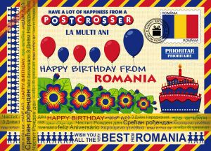 Happy Birthday from... Romania