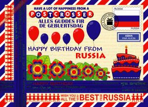Happy Birthday from... Russia