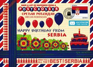 Happy Birthday from... Serbia