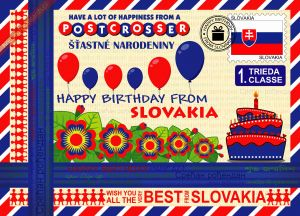 Happy Birthday from... Slovakia