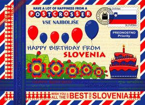 Happy Birthday from... Slovenia