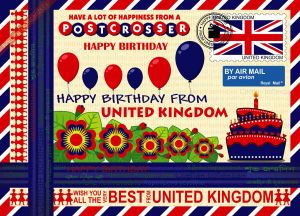 Happy Birthday from... United Kingdom