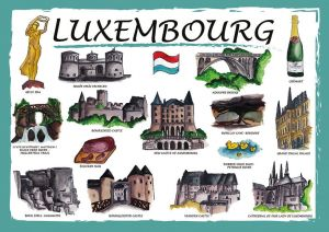 Countries of the World: Luksemburg