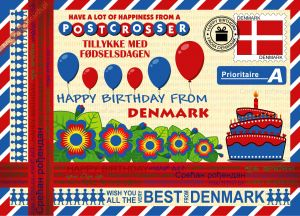 Happy Birthday from... Denmark