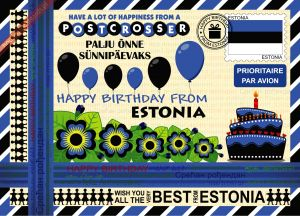 Happy Birthday from... Estonia