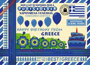 Happy Birthday from... Greece