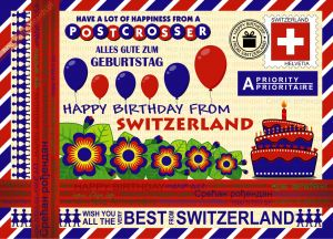 Happy Birthday from... Switzerland