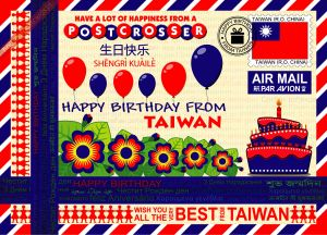 Happy Birthday from... Taiwan