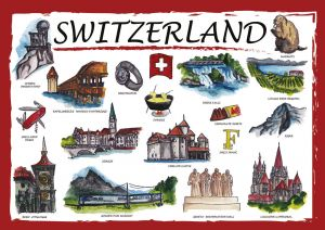 Countries of the World: Szwajcaria