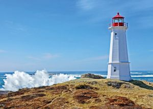 Louisbourg Lighthouse. Canada
