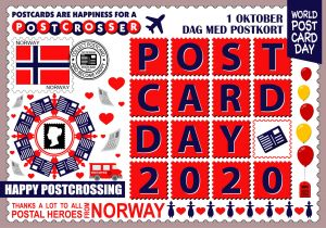 World Postcard Day - Norway
