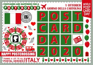 World Postcard Day - Italy