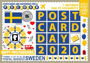 World Postcard Day - Sweden