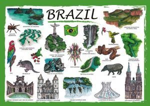 Countries of the World: Brazylia