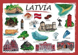 Countries of the World: Łotwa