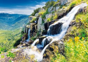 Pancava waterfall, Karkonosze Mountains