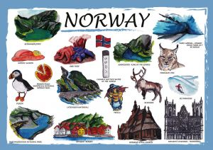 Countries of the World: Norwegia