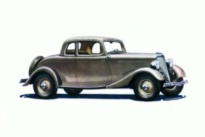 Ford V-8 De Luxe Coupe 1934