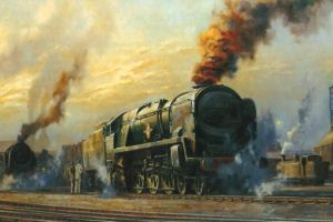 Alan Fearnley: Lokomotive 15