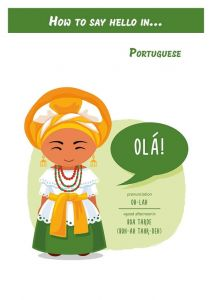 How to say hello in... Portuguese