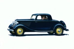 Ford V-8 Coupe 1934