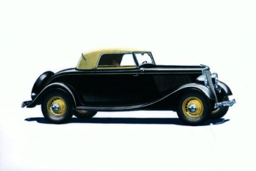 Ford V-8 Convertible Cabriolet 1934