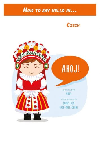 How to say hello in... Czech