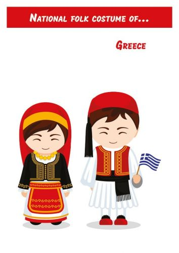 National Folk Costume of... Greece