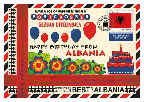 Happy Birthday from... Albania