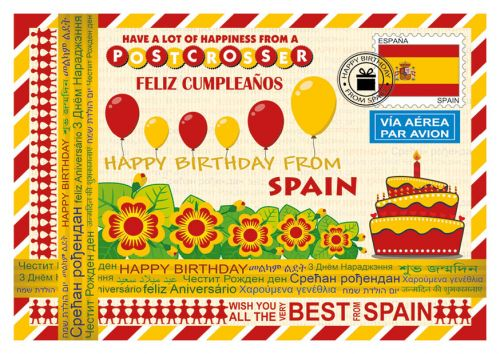 Happy Birthday from... Spain