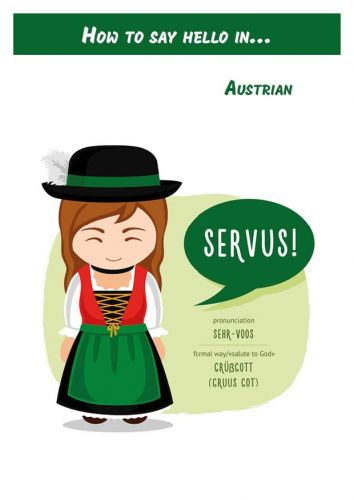 How to say hello in... Austrian