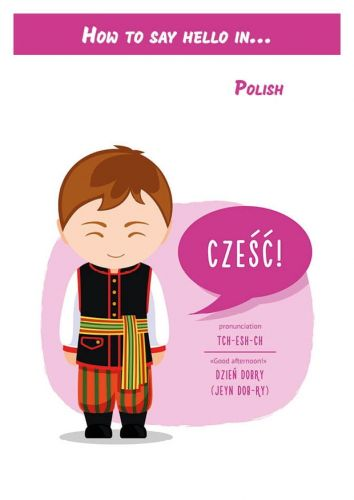 How to say hello in... Polish