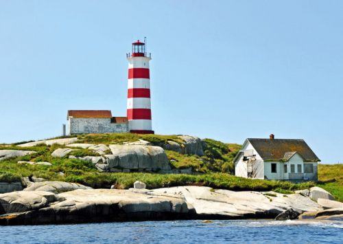 Sambro Island Lighthouse. Canada